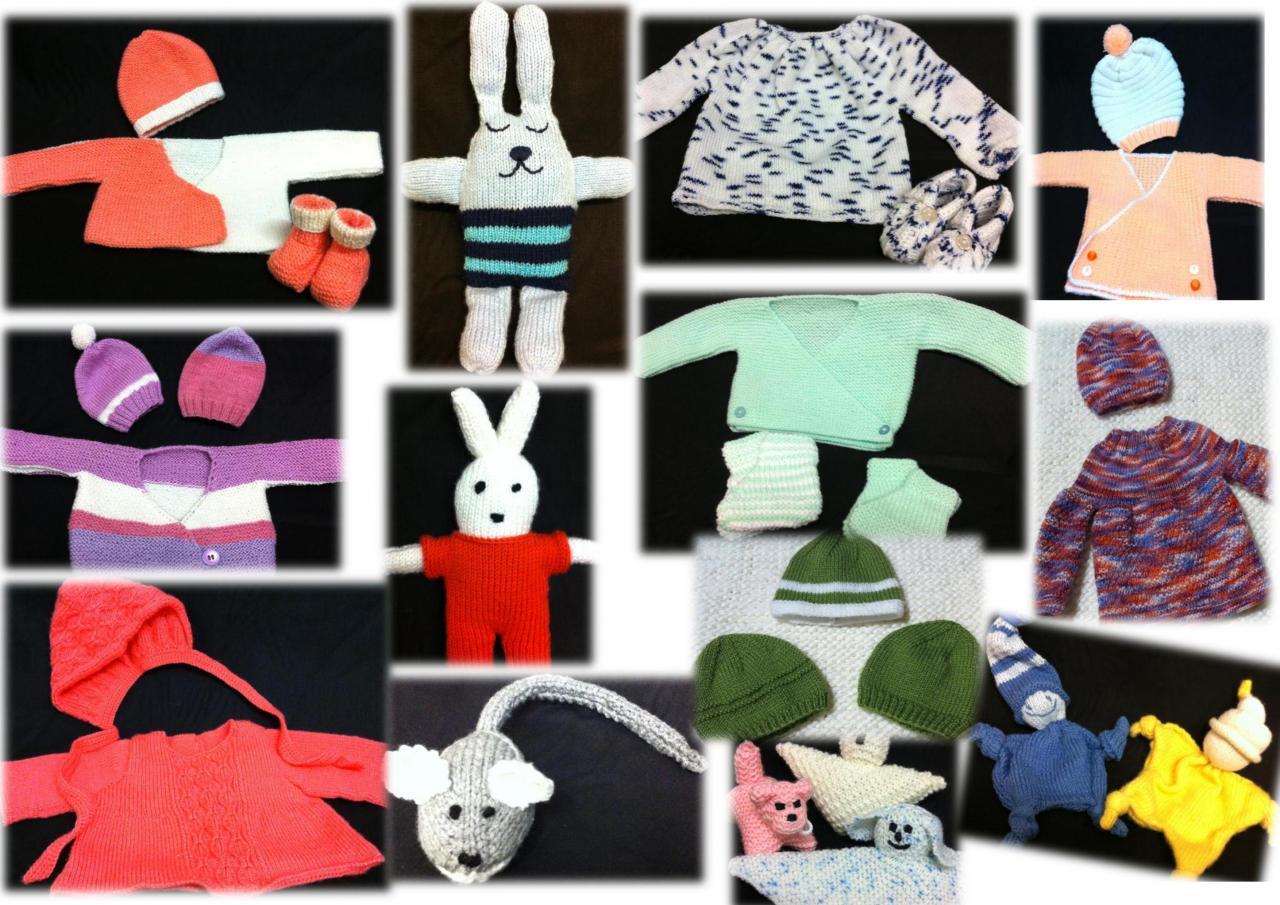 Nous tricotons pour les bébés prématurés