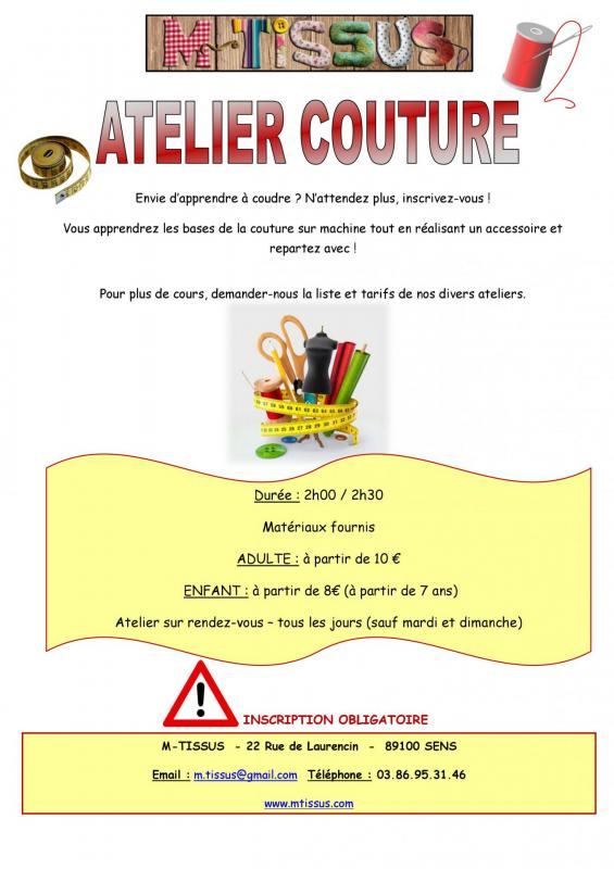 Affiche ateliers 1
