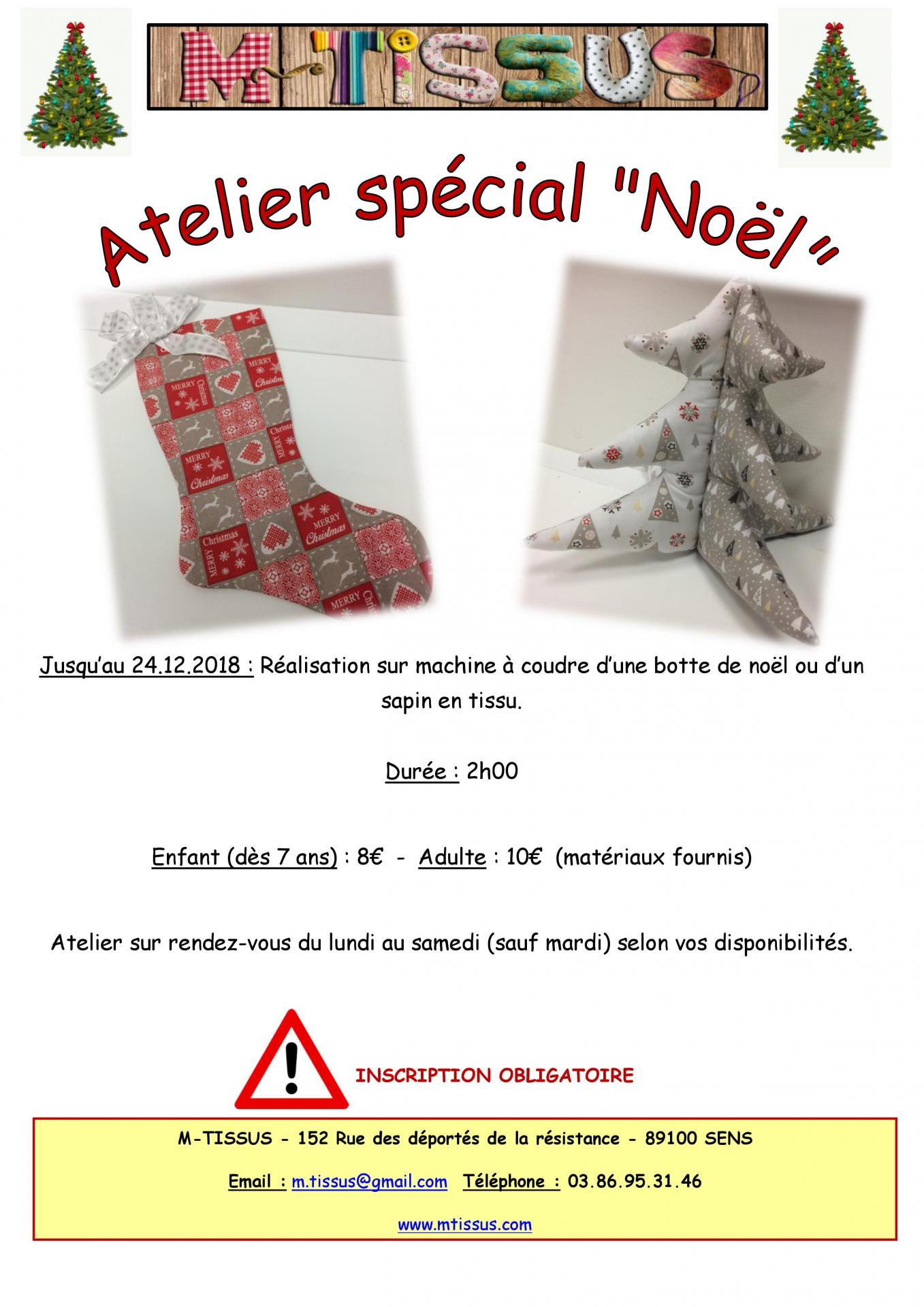 Ateliers noel 2018